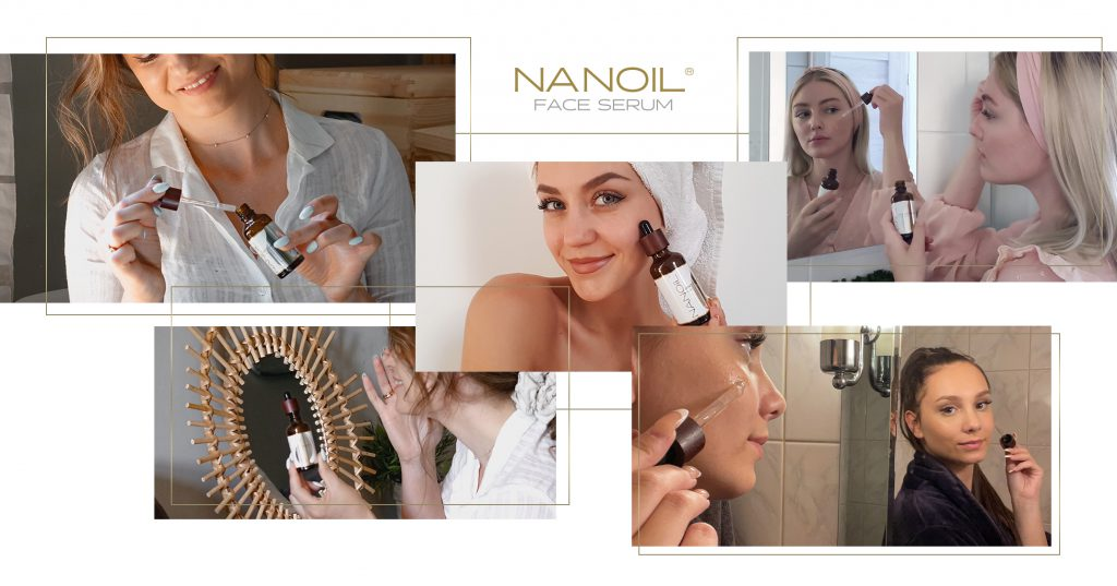 beste ansiktsserum mot rødhet Nanoil